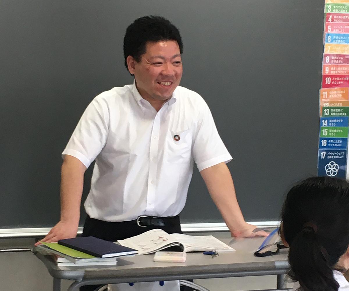 都筑 敏史先生先生